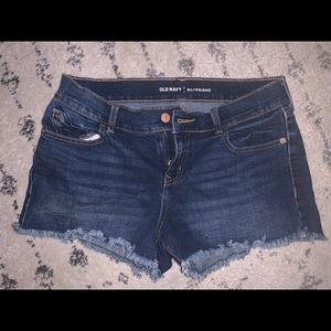 Comfortable fit jean shorts!